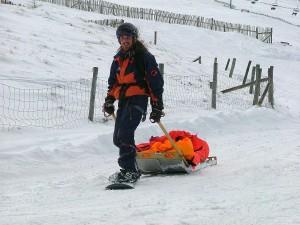 Snowboard Patroller