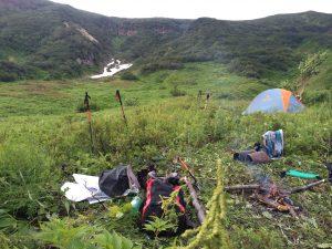 kamchatka wild camping